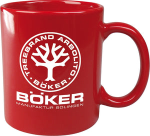 Boker Logo Red Dishwasher Safe Mug - 09BO180