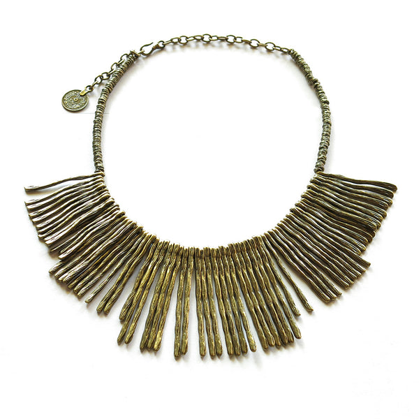 Bronzey Necklace