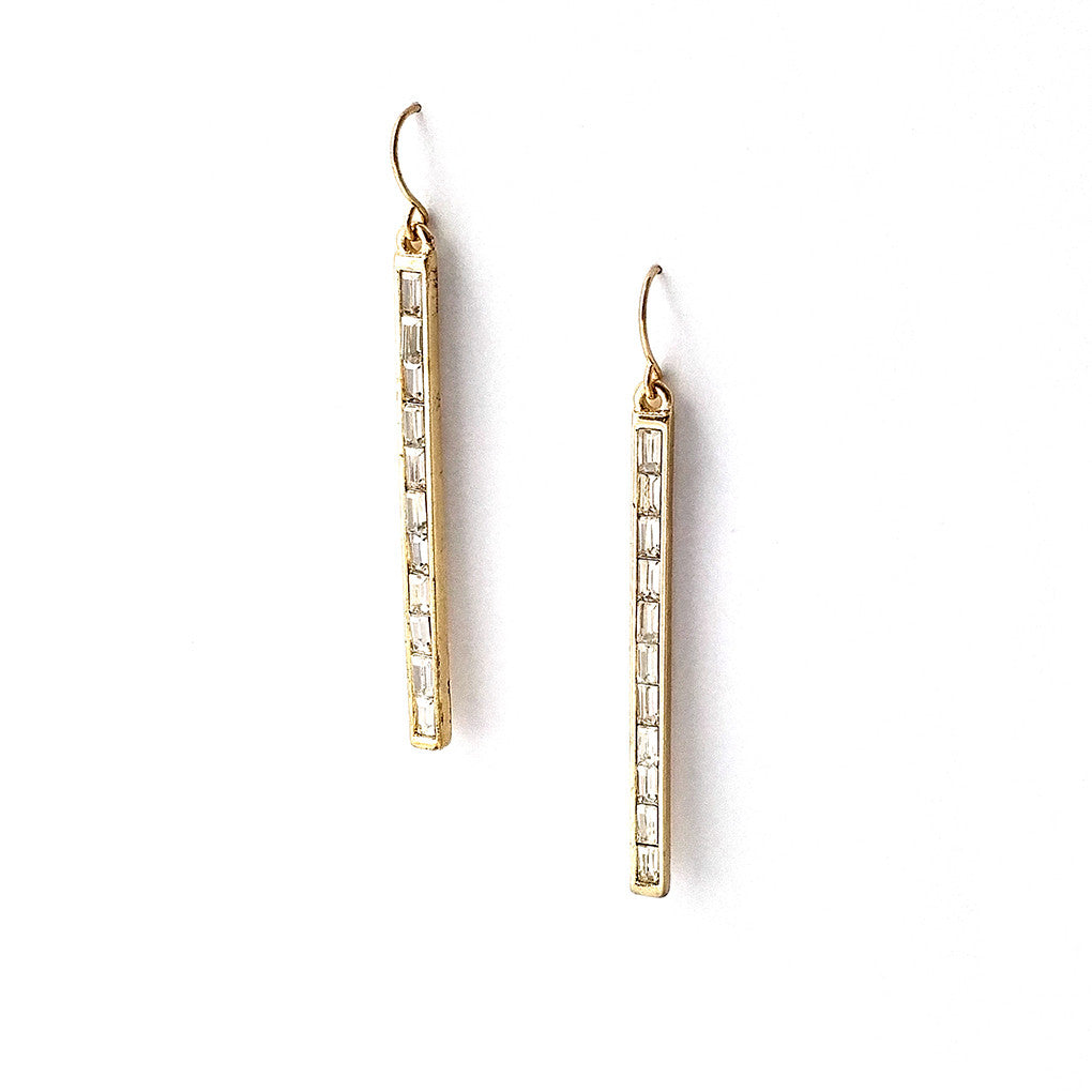 Aswan Earrings - GOLD AND SILVER