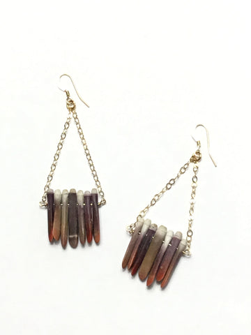 Urchin Bar Earrings