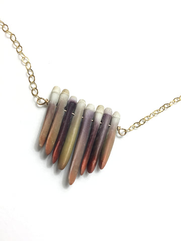 Urchin Bar Necklace