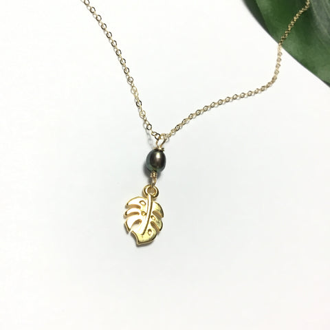 Pearl Jungle Necklace