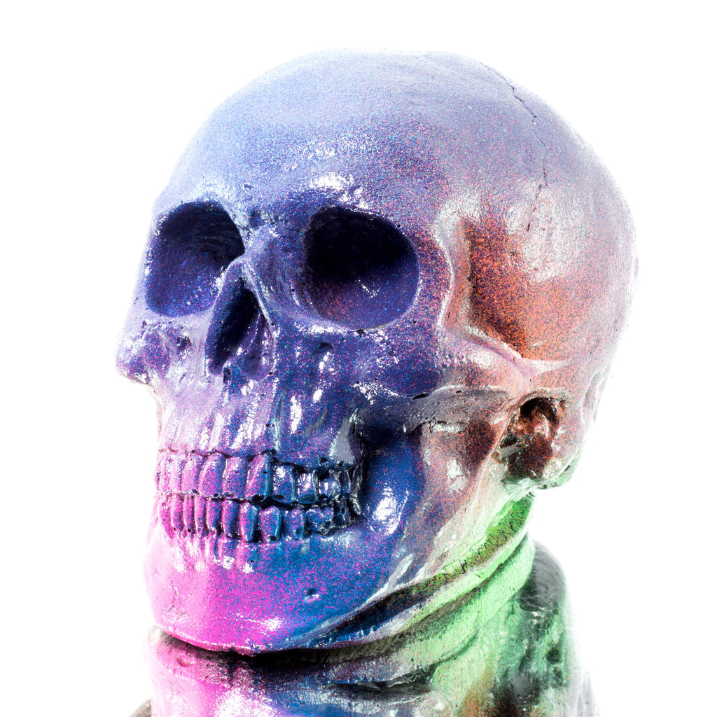 "The ""Blue Pearl"" Skull"