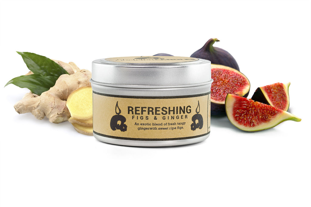 Refreshing Figs & Ginger - Soy Candle