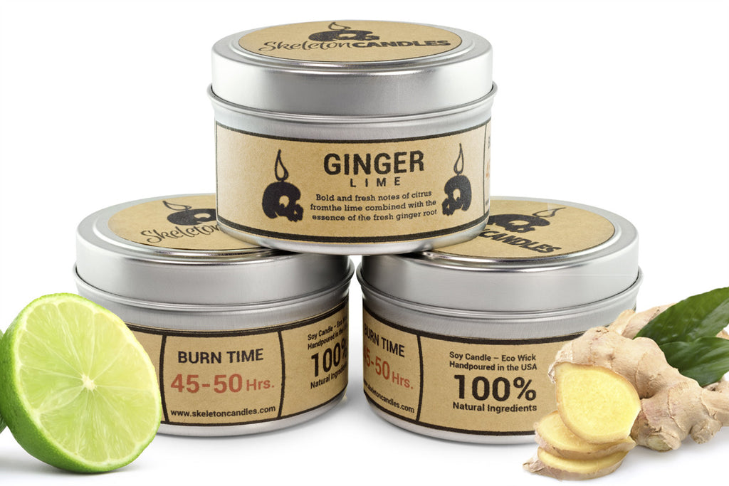 Ginger Lime - Soy Candle