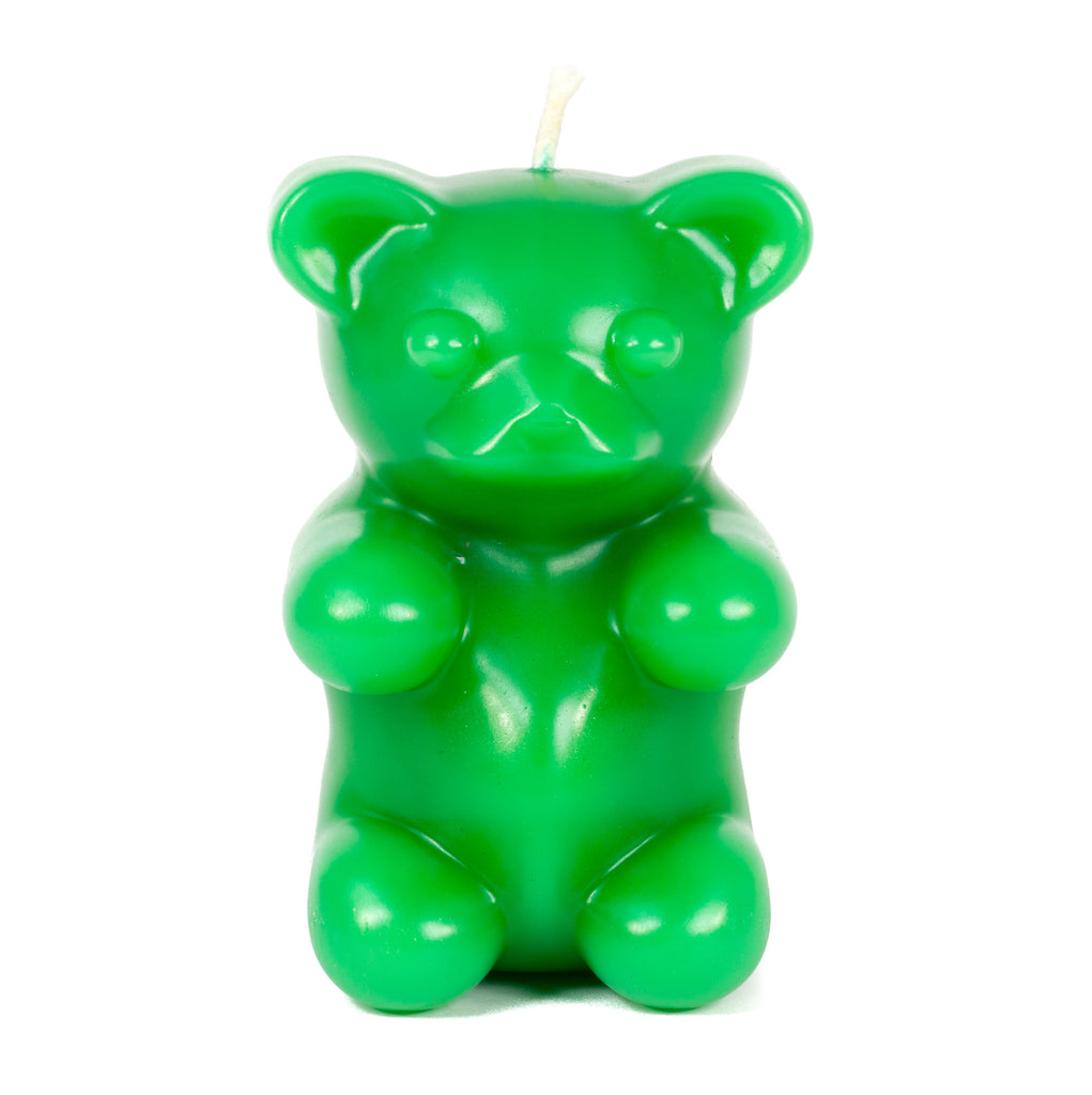 Gummy Bear Candle - Green
