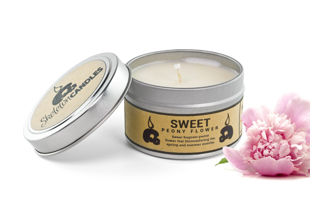 Sweet Peony Flower - Soy Candle