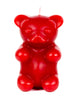 Gummy Bear Candle - Red