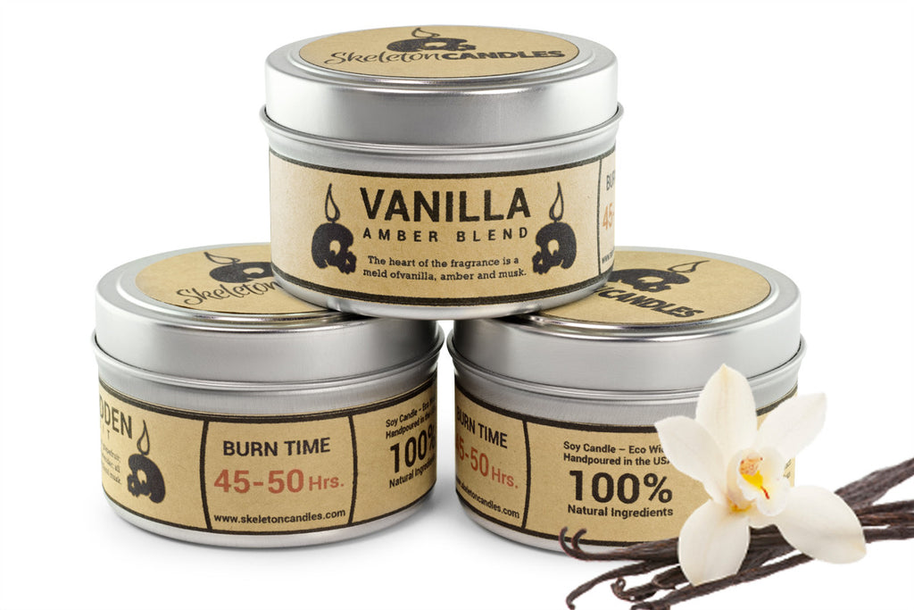 Vanilla Amber Blend - Soy Candle