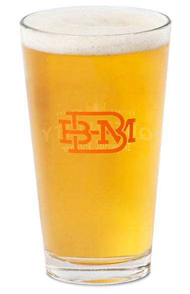 16 oz. Pint Glass - Buffalo Beer Mug Co.