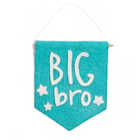 Felt Big Bro Banner Flag