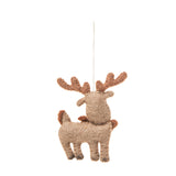 Arctic Moose Ornament