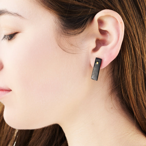 Rectangle Horn Studs