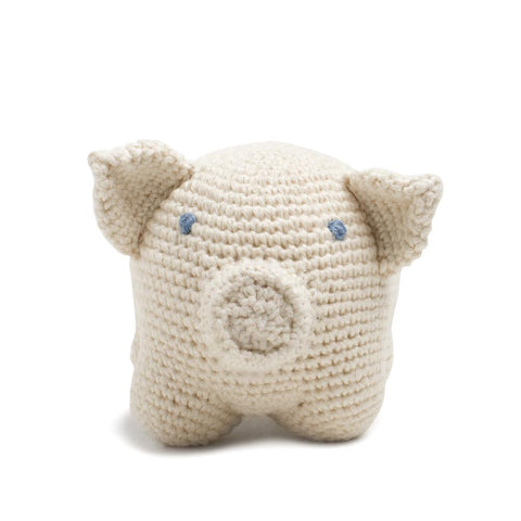 Organic Cotton Piggy Toy: Handmade in Peru Cuddle Toy Children Global Goods Partners wholesale