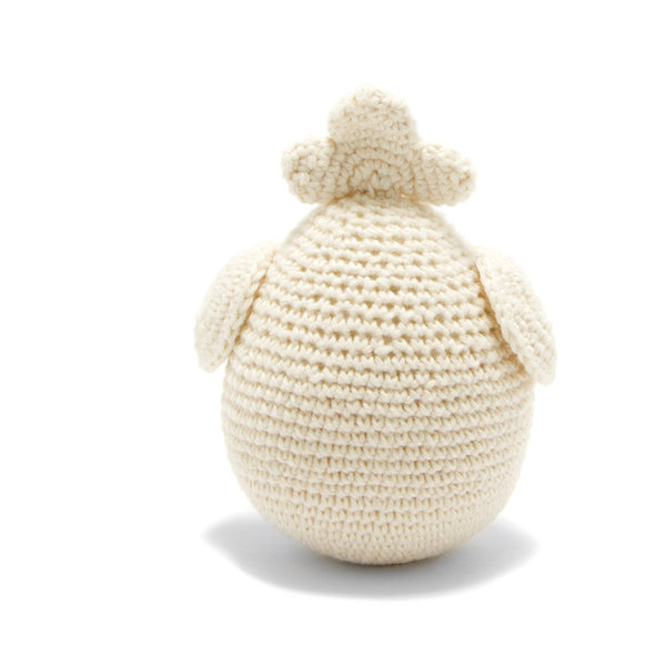 Organic Cotton Chick Toy: Handmade in Peru Cuddle Toy Children Global Goods Partners wholesale