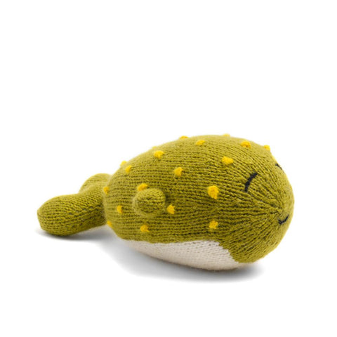 Knit Alpaca Stuffed Blowfish