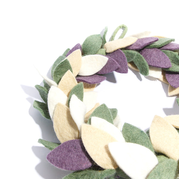 Frost Harvest Wreath
