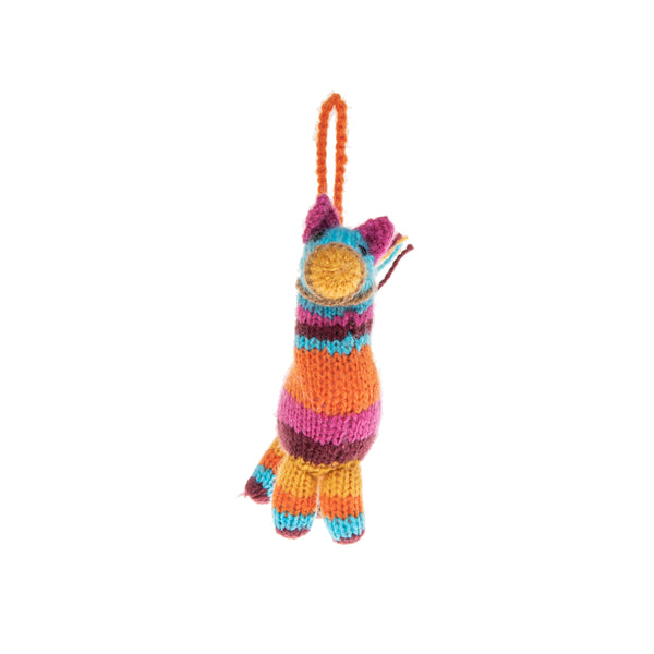 Piñata Knitted Ornament