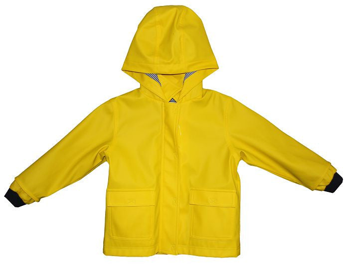 Petit Bateau Hooded Rain Coat/Yellow
