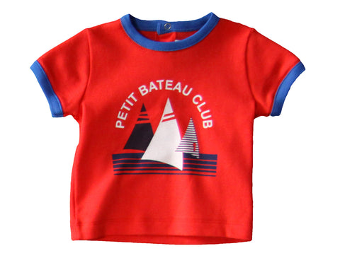 Petit Bateau Baby Boy SS Tee with Graphics