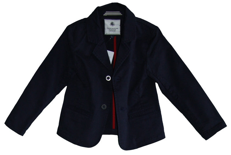 Petit Bateau Boy Two Buttons Jackets/Navy