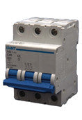 Circuit Breakers (10kA) 3P NB1-63H Series