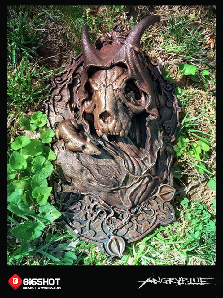 "An early release of the Mother Earth 14"" art object designed by AngryBlue. Sculpted and produced by Bigshot."