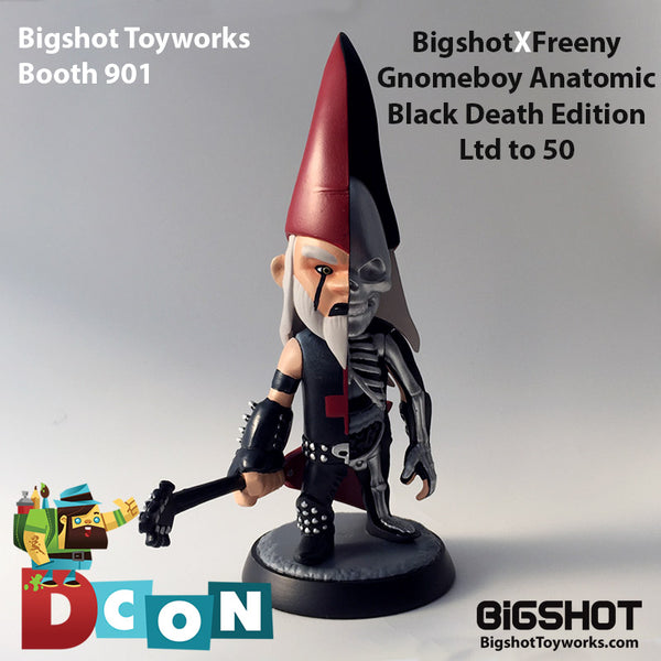 Bigshot x Jason Freeny Gnomeboy Anatomy Black Death