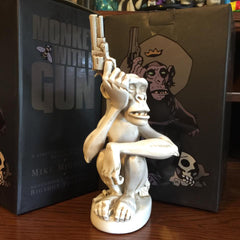 Monkey with a Gun sculpture by Mike Mignola - BONE Edition