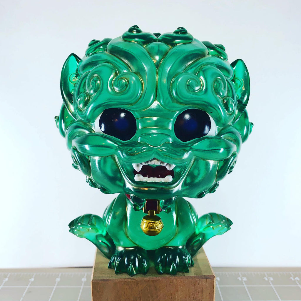Shi-Shi the Tiny Guardian 6-inch Resin Statue - Jade Edition