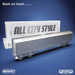 All City Style DIY Train 20-piece case [WHOLESALE]