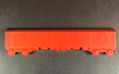 "All City Style Redbird Train - Single 20"" half car model"