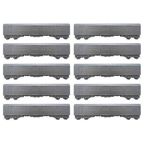 All City Style 10pc Carton Silver