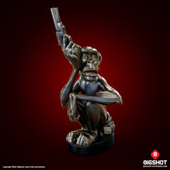 Monkey with a Gun sculpture by Mike Mignola - Bronze edition [SOLD OUT]