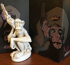 Monkey with a Gun sculpture by Mike Mignola - BONE Edition [SOLD OUT]