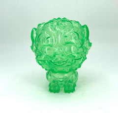 Shi-Shi the Tiny Guardian 4-inch Sofubi Vinyl Figure - Emerald Green Edition