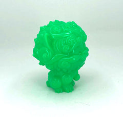 Shi-Shi the Tiny Guardian 4-inch Sofubi Vinyl Figure - Green Edition
