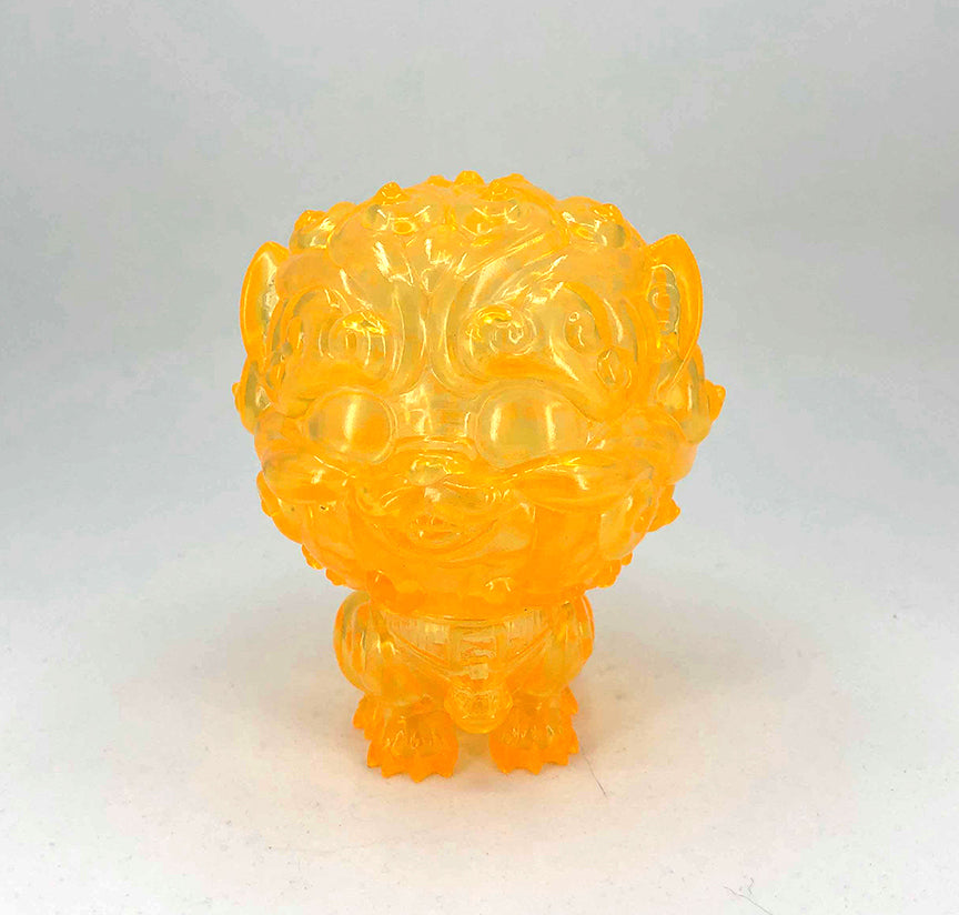 Shi-Shi the Tiny Guardian 4-inch Sofubi Vinyl Figure - Honey Edition