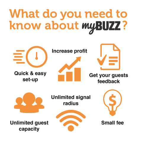 Benefits of myBUZZ restaurant buzzer