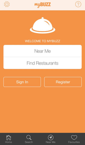 myBUZZ App interface