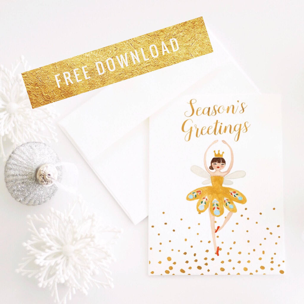 Nutcracker Holiday Cards