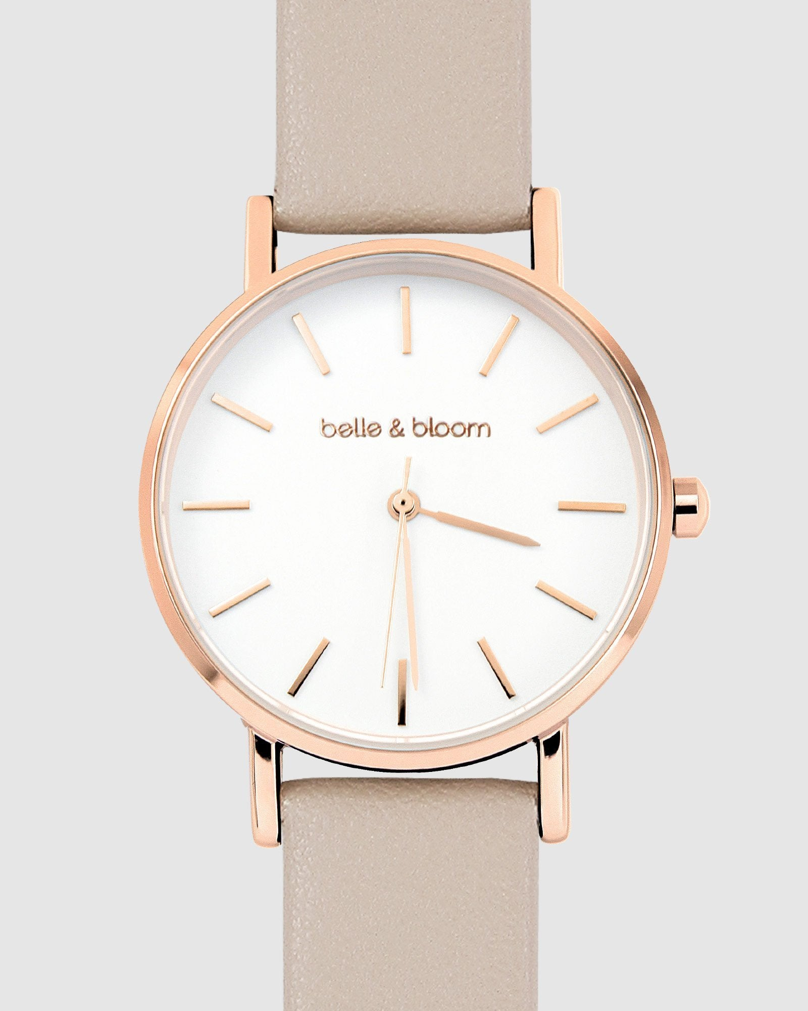 Lafayette Love Classic Watch - Rose Gold / Latte