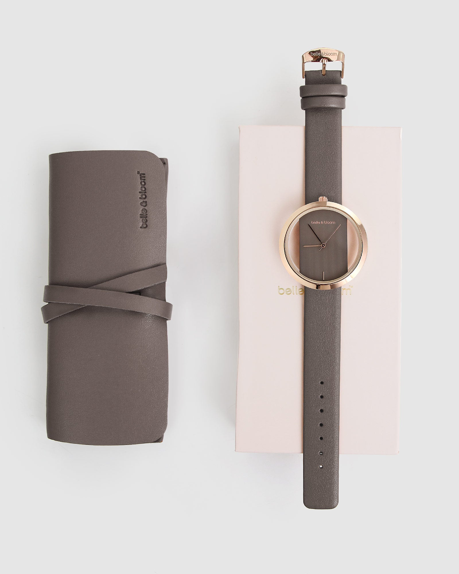 Barcelona Story Watch - Rose Gold / Grey