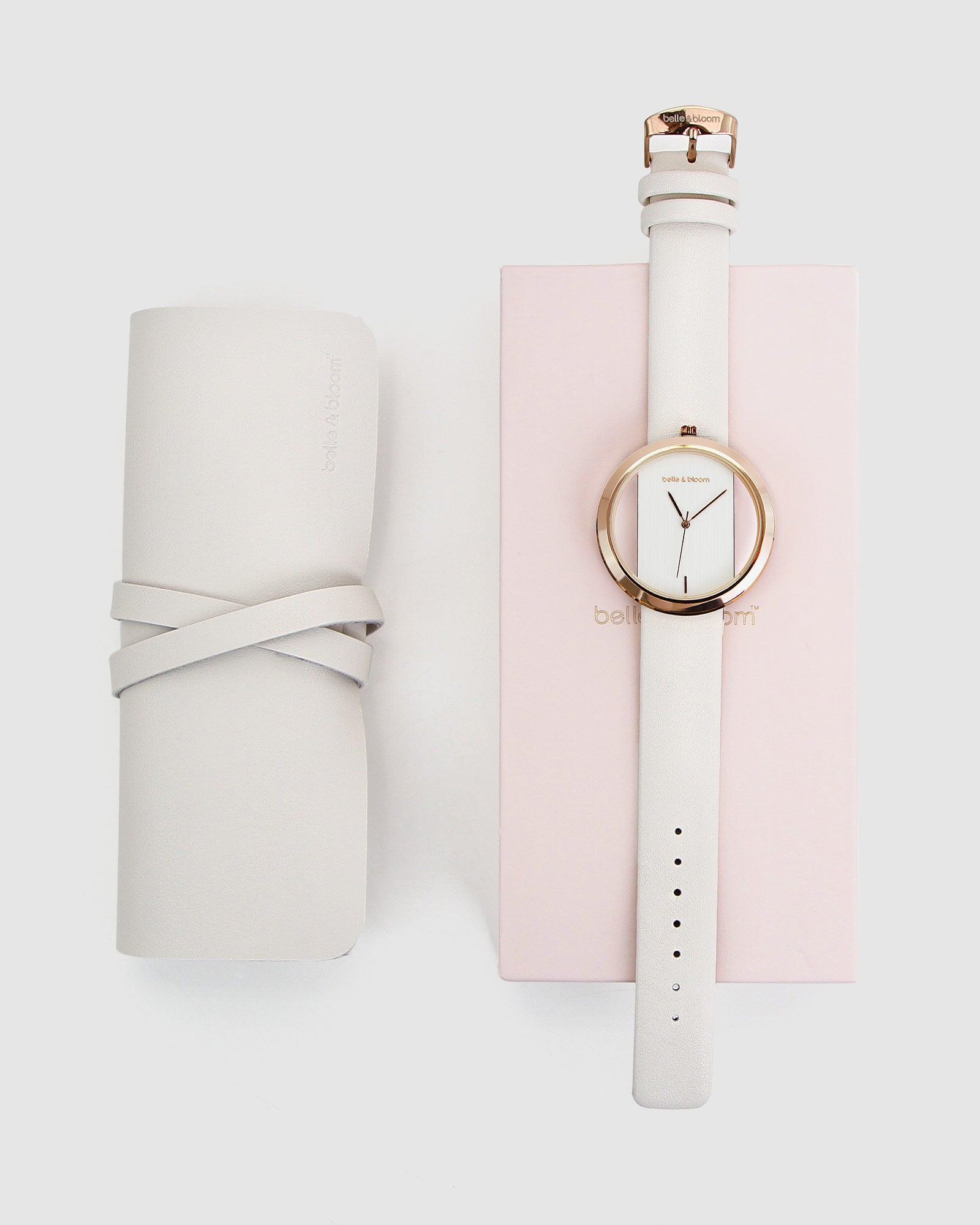 Barcelona Story Watch - Rose Gold / Ivory