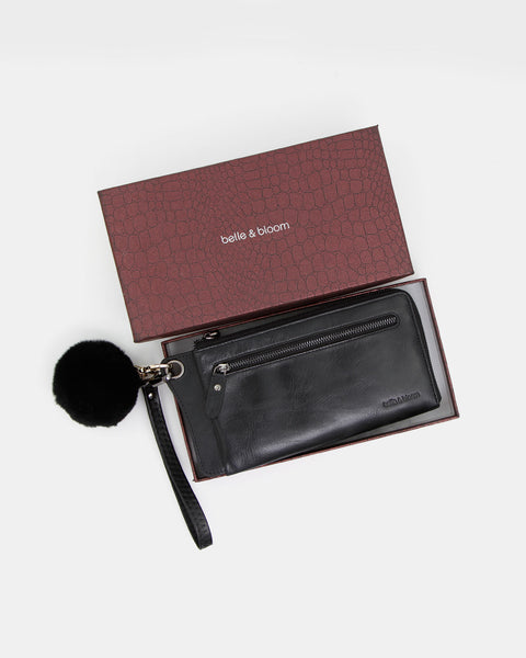 Penelope Gift Pack - Wallet + Fur Keychain