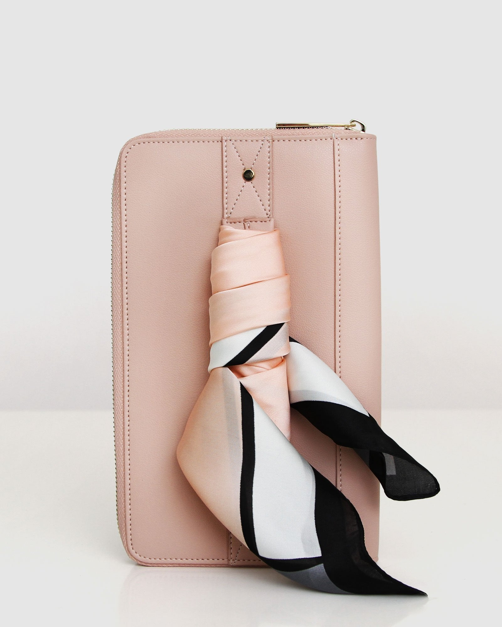 Wilona Travel Wallet - Blush