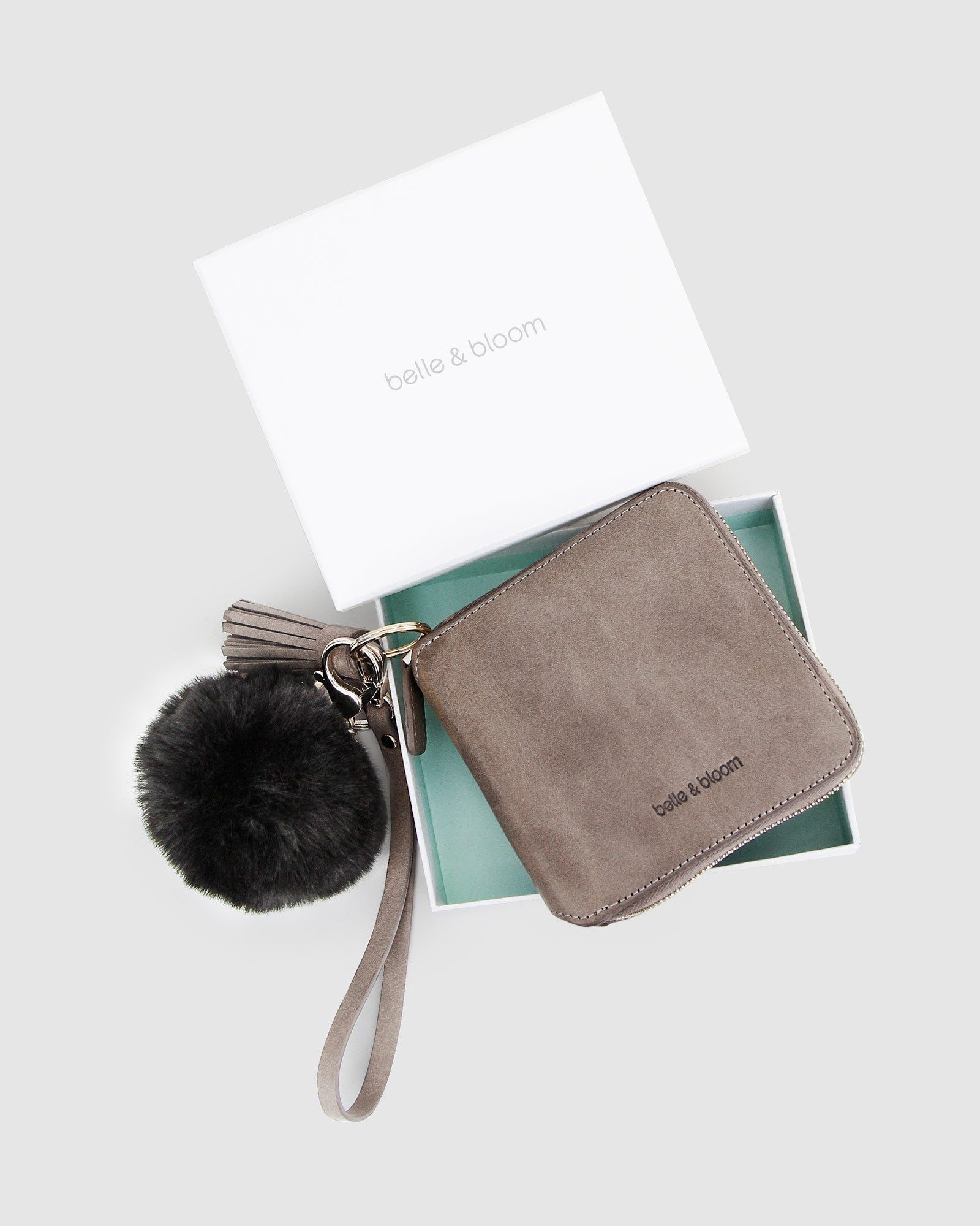 Nora Gift Pack + Fur Keychain - Ash/Black