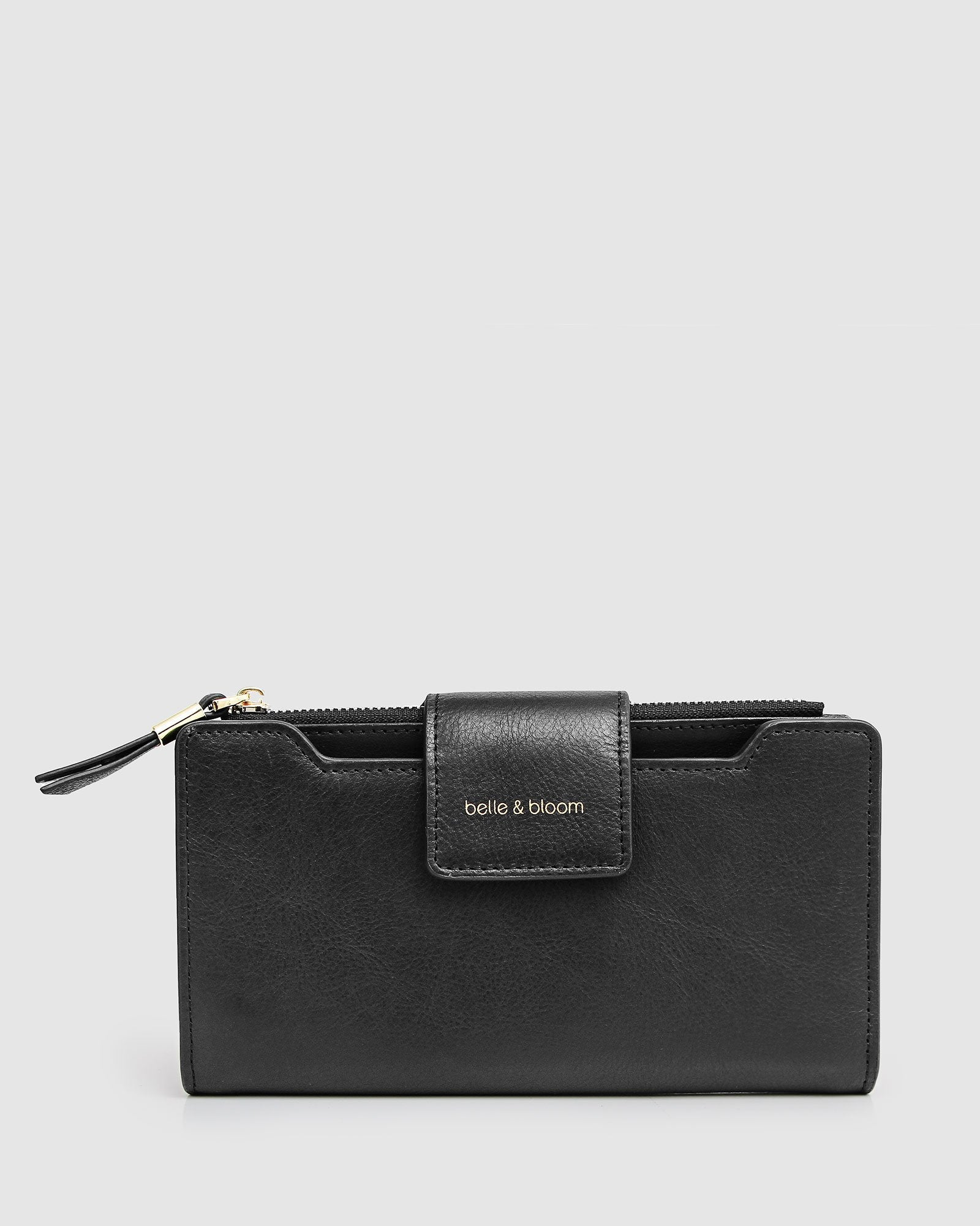Sweet Soul Leather Wallet - Black