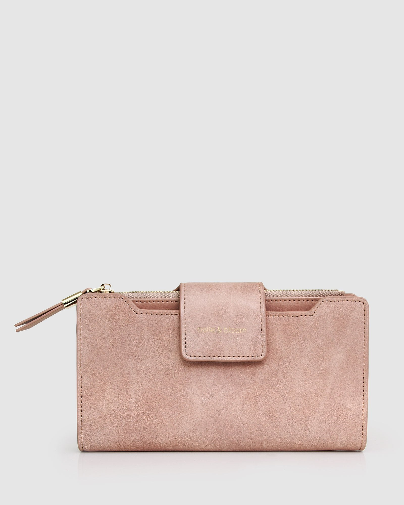 Sweet Soul Leather Wallet - Dusty Rose