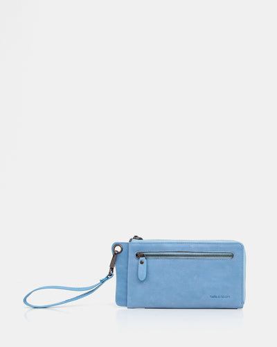 belle&bloom-blue-leather-wallet-and-wristlet.jpg